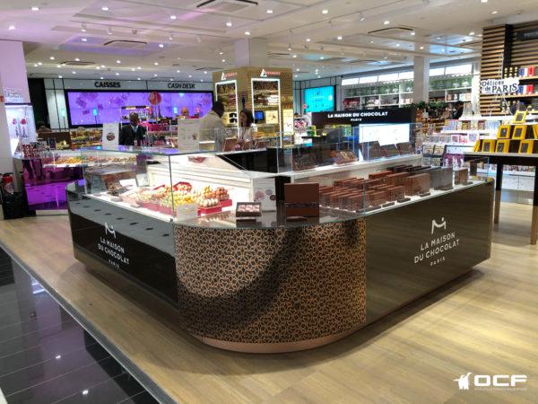 La Maison Du Chocolat - Paris (75) - Vitrine réfrigérée OCF