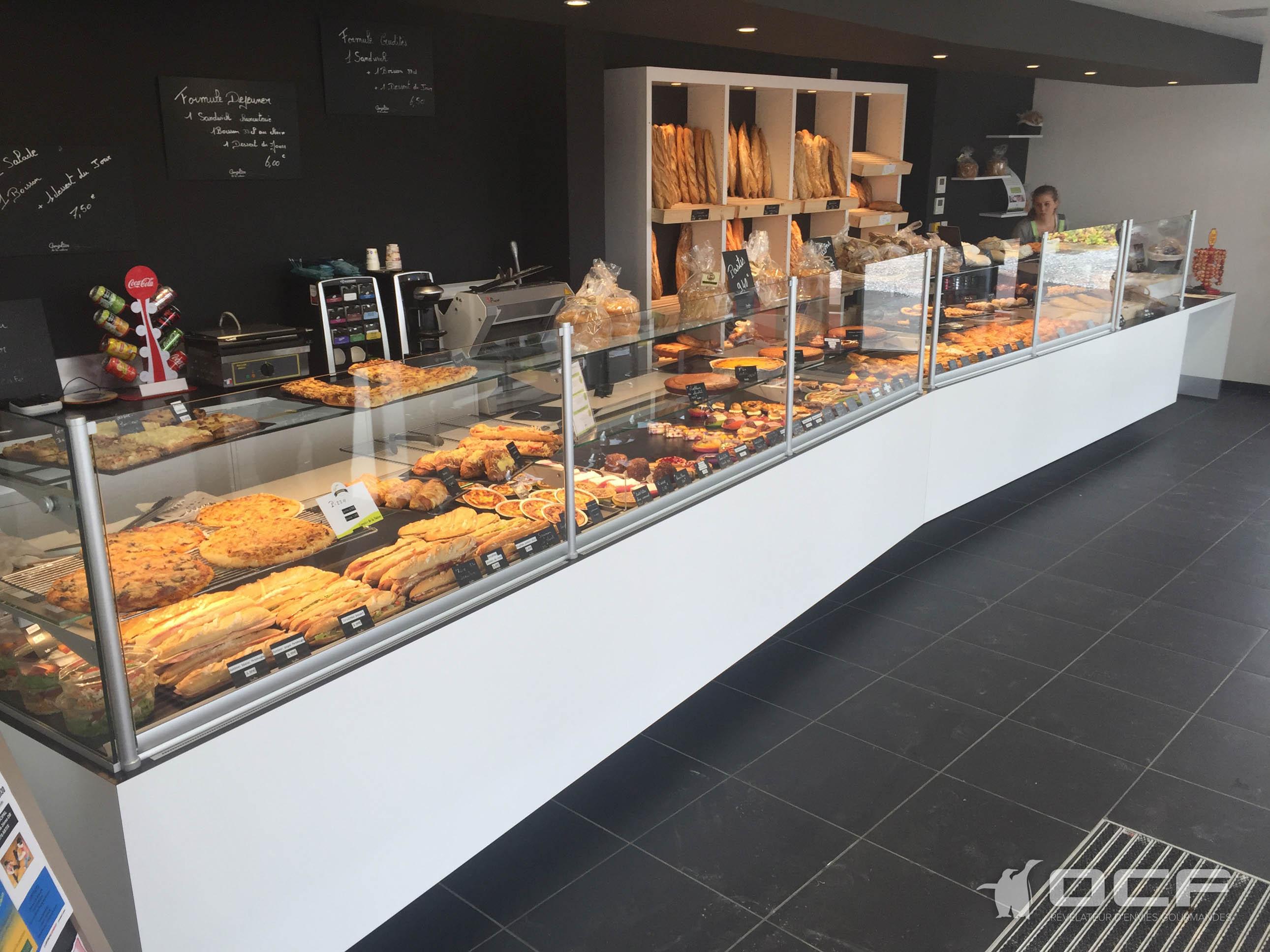 Boulangerie Mouveaux - Denguin (64) - Vitrine réfrigérée OCF