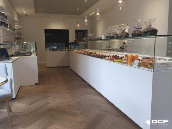 Gateaux et Chocolats - Toulouse (31) - Vitrine réfrigérée OCF