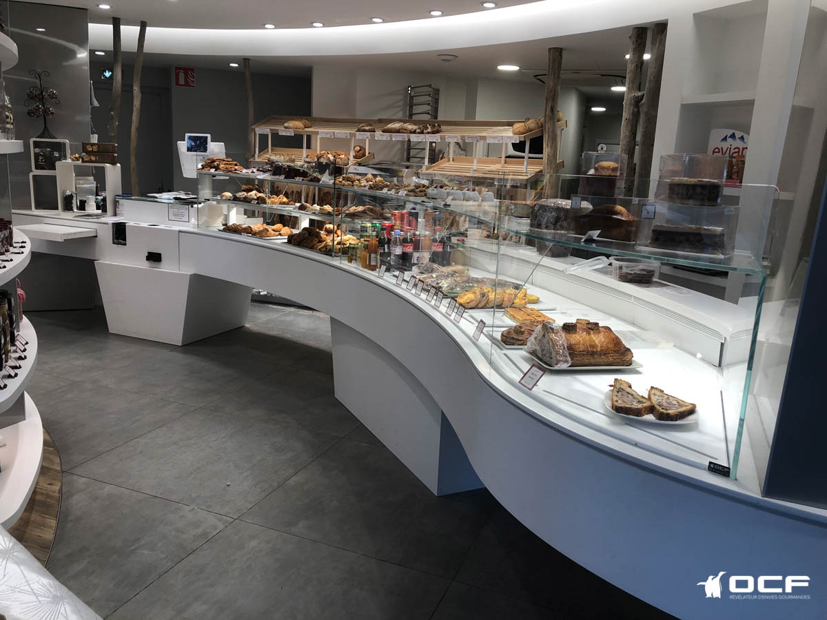 Maison REIBEL - Evian-Les-Bains (74) - Vitrine réfrigérée OCF