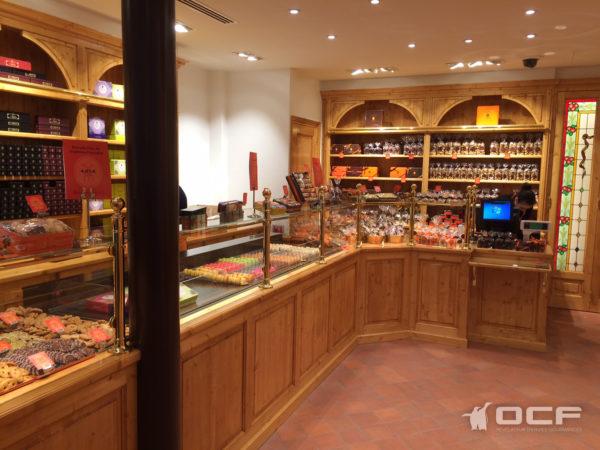 Biscuiterie de Montmartre - Paris (75) - Vitrine réfrigérée OCF