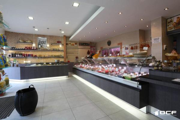 Boucherie Giromagny - 70300 Luxeuil Les Bains - Vitrine réfrigérée OCF