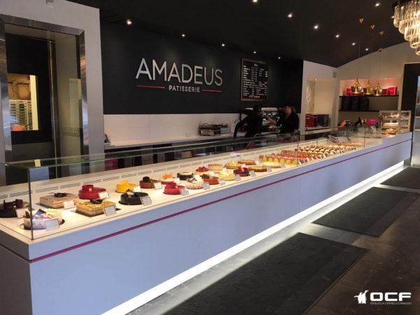 Amadeus Patisserie - Toronto (Canada) - Vitrine réfrigérée OCF
