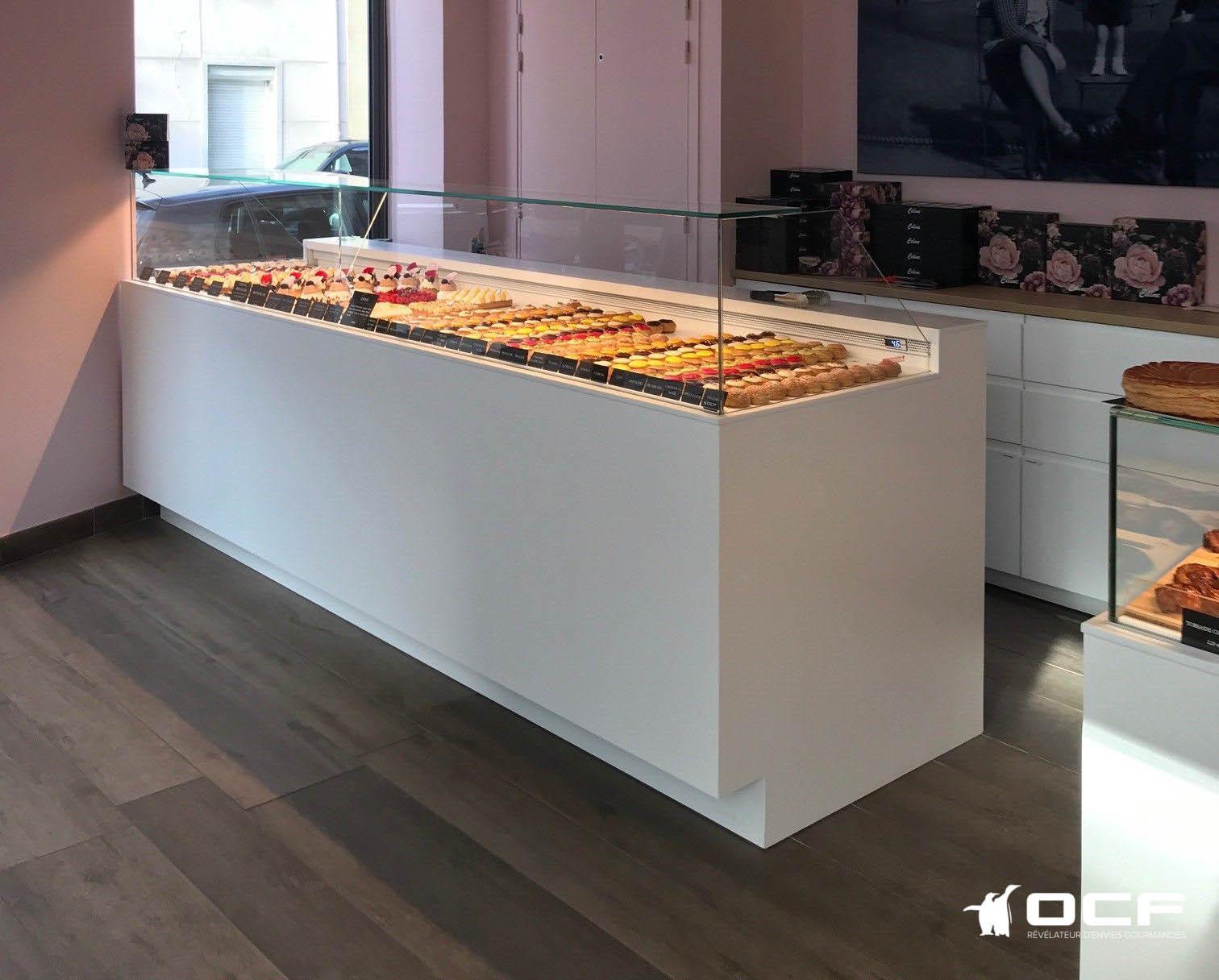 Céline Atelier Gourmand - Boulogne Billancourt (92) - Vitrine réfrigérée OCF