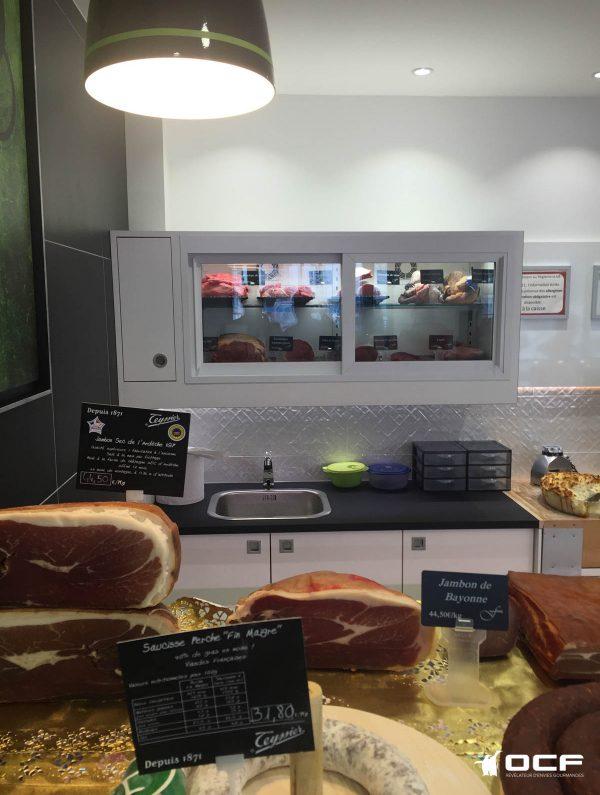 Boucherie Fessard - 37170 Chambray Les Tours - Vitrine réfrigérée OCF