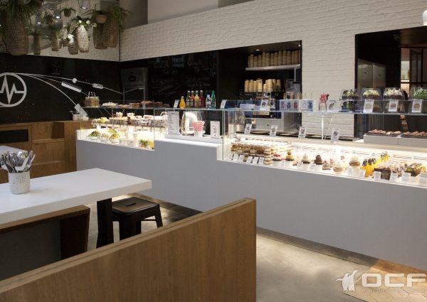 CAFÉ MICHALAK - PARIS (75) - Vitrine réfrigérée OCF